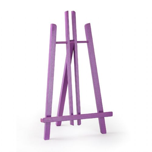 "Violet Colour Easel Kent 20"" - Beech Wood"